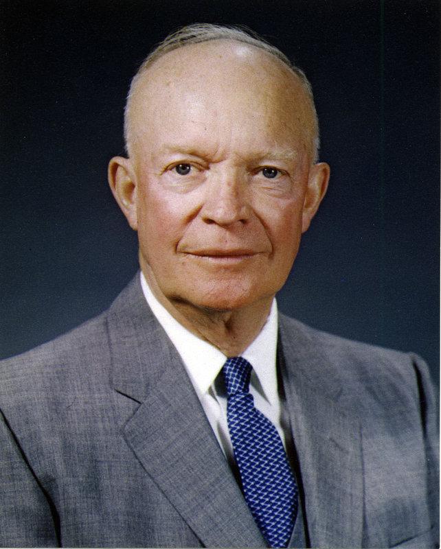 Дуайт Эйзенхауэр (14 октября 1890 - 28 марта 1969) , 34-й ...
